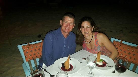 Beach Dinner Photo