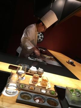 Dining at Moku no Sho