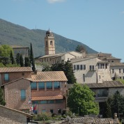 View from in Assisi, Italy
