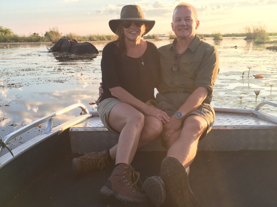 Botswana water safari with Wilderness Safaris